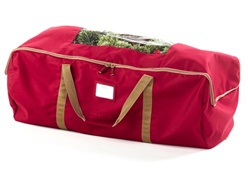 CoverMates - Large Holiday Storage Duffel Bag - Holds up to 7.5 Foot Tree - 3 Year Warranty