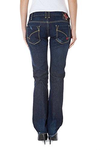ZUELEMENTS 3750 Mujer Azul Denim Albertine Jeans Z170092051551T UawqpUZR