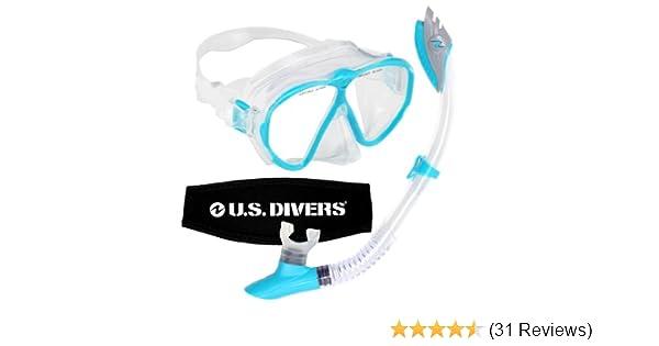 Amazon.com  U.S. Divers Women s Phantom LX Mask and Palau Snorkel ... 8dce241db0