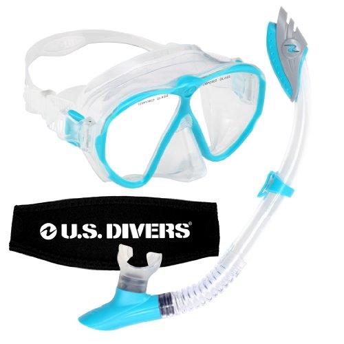 Price comparison product image U.S. Divers Women's Phantom LX Mask and Palau Snorkel, Aqua