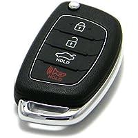 OEM Hyundai Sonata Flip Key Keyless Entry Remote Fob (FCC ID: TQ8-RKE-4F16 / P/N: 95430-C1010)