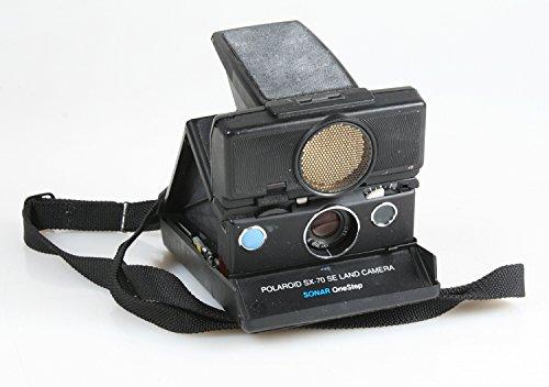 POLAROID SX-70 INSTANT FILM LAND CAMERA SE SONAR AUTO FOCUS ONE STEP WITH STRAP (Sx 70 Sonar)