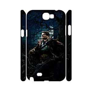 Into the Woods HILDA015888 3D Art Print Design Phone Back Case Customized Hard Shell Protection Samsung Galaxy Note 2 N7100