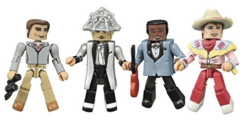 Diamond Select Toys Back to the Future: 30th Anniversary 1955 Minimates Action Figure Box Set Action Figure by Diamond Select ()