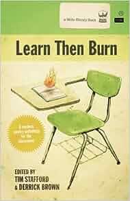 Burning a book by william stafford