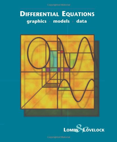 Differential Equations: Graphics, Models, Data