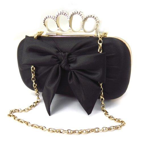 Bolso La Negro De 'sissi'dorado Bolsa BRWqcw1OaR