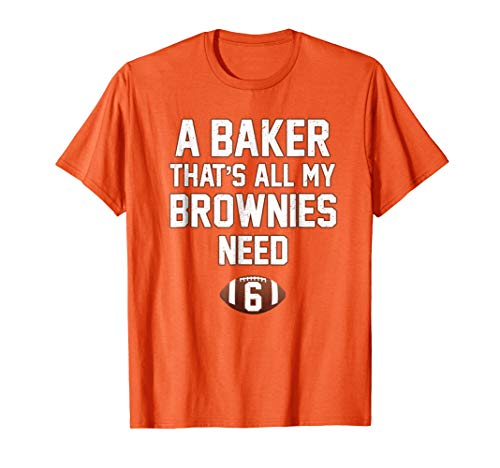 Baker That's All My Brownies Need Cleveland Vintage Shirt -
