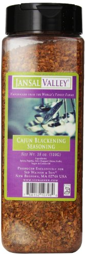 Jansal Valley Cajun Blackening Seasoning, 18 - Cajun Blackening Seasoning