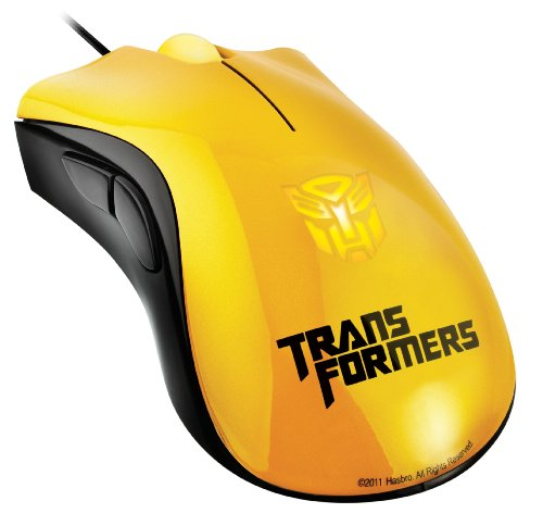 Razer DeathAdder Transformers 3 Collectors Edition Gaming Mouse - Bumblebee (RZ01-00152800-R3U1)