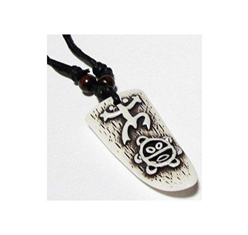 cameleon-shop – Collar Extensible colgante – Tabla de Surf Blanca – Suelo Taino –