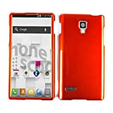 For Lg Optimus L9 P769 Orange A016-f Glossy Cover Hard Case