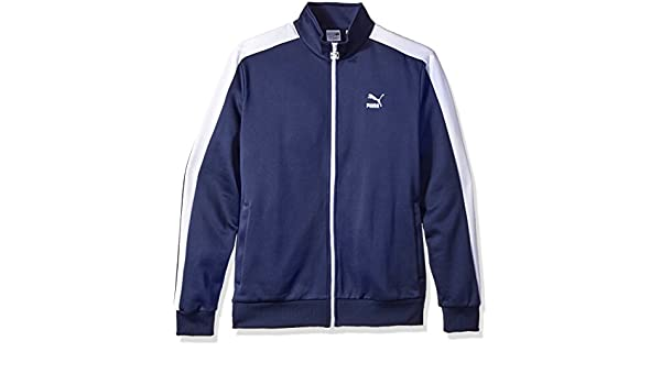 PUMA Mens Archive T7 Track Jacket Peacoat Small: Amazon.es: Ropa y accesorios