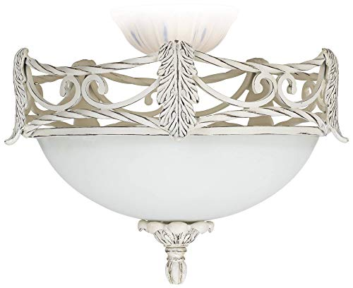 Acanthus Lamp (LED Acanthus Leaf Etched Glass Ceiling Fan Light Kit)