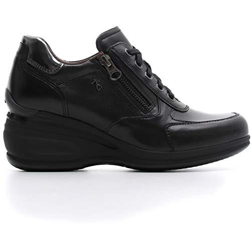 A806402d Sneakers Verdegris 2019 Pelle Inverno Scarpe Autunno Giardini In Nero Donna ItqEpWw