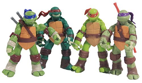 TMNT Teenage Mutant Ninja Turtles Action Figures 4pcs