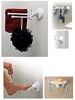 Safe-er-Grip Soap Dish / Footrest / Shower Hook / Brush Bar / Drip Dry Kit