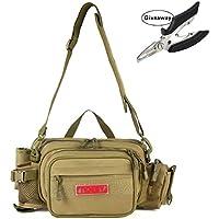 NOEBY Fishing Bag + Portable Fishing Plier Outdoor...