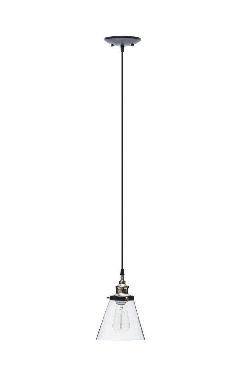 Globe Electric 1-Light Vintage Edison Hanging Pendant 3-Pack Antique Brass u0026 Bronze Finish Black Cord Glass Shade 65207 - - Amazon.com  sc 1 st  Amazon.com & Globe Electric 1-Light Vintage Edison Hanging Pendant 3-Pack ... azcodes.com