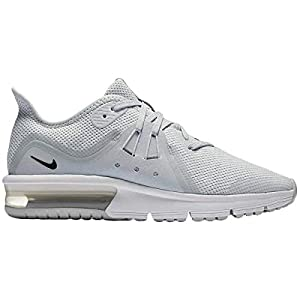 3783d2e3eff ... NIKE Youth Air Max Sequent 3 GS Textile Black White Trainers. upc  888412646081 product image1