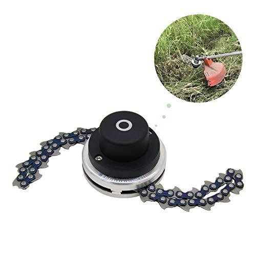 CZS 65Mn Trimmer Head Coil Garden Lawn Mower Brush Cutter Accessory Chain Grass Mower Head Replacement Outdoor Power Tools Universal (Best Walk Behind Brush Cutter)