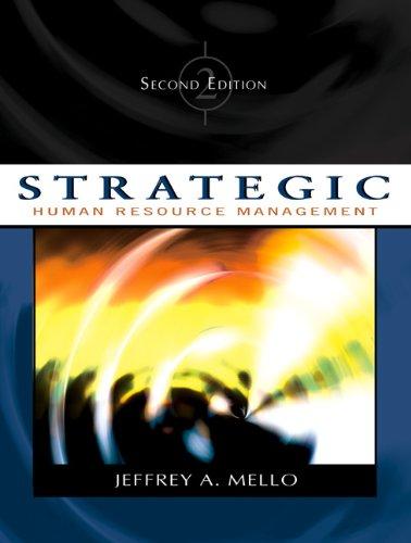 Strategic Human Resource Management (with InfoTrac)