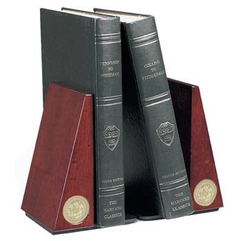 Auburn Tigers - Pair of Rosewood (Auburn Bookends)