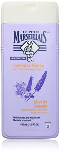 (Le Petit Marseillais Extra Gentle Shower Creme Lavender Honey Body Wash 650 Ml, 21.9 Fluid Ounce)