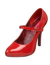 Bordello by Pleaser Women's Tempt-35 Mary-Jane Pump