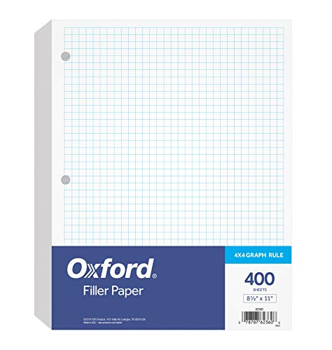 Oxford Filler Paper 812