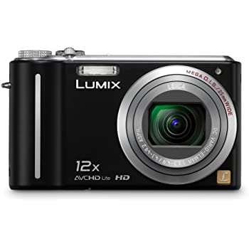 Panasonic Lumix DMC-ZS3 10.1 MP Digital Camera with 12x Wide Angle MEGA Optical Image Stabilized Zoom and 3 inch LCD (Black)