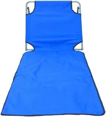 Amazon.com: Portátil Silla plegable de playa Mat, Azul ...