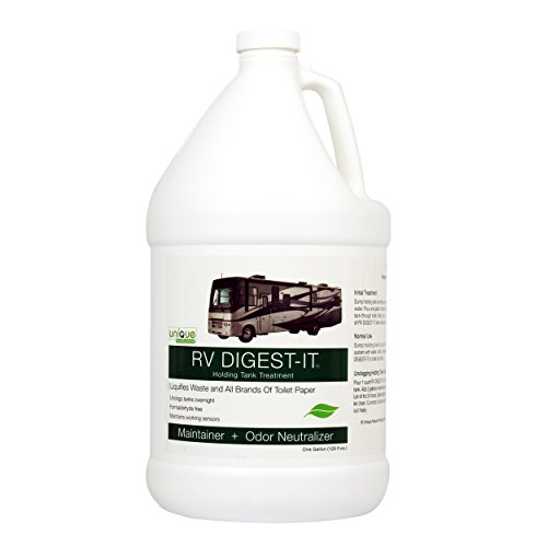 RV DIGEST-IT - Holding Tank Treatment by Unique-1 gallon LIQUID