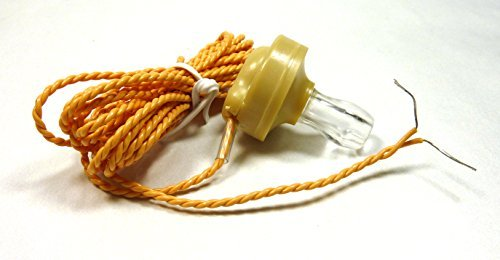 Philmore Crystal Radio Earphone to Stripped And Tinned Bare Wire, 7-Ft Cord, High Impedance 748