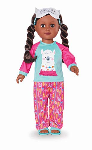 "myLife Brand Products My Life As Poseable 18"" Sleepover Host - African American"