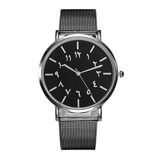 Wrist Watch for Women,vansvar Casual Quartz Stainless Steel Band Newv Strap Watch Analog Wrist Watch,Girls