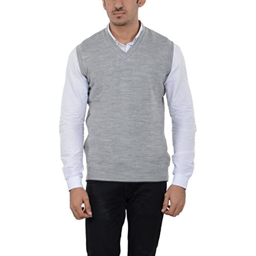 41I9It3mBdL. SS500  - aarbee Men's Woolen Reversible Sweater