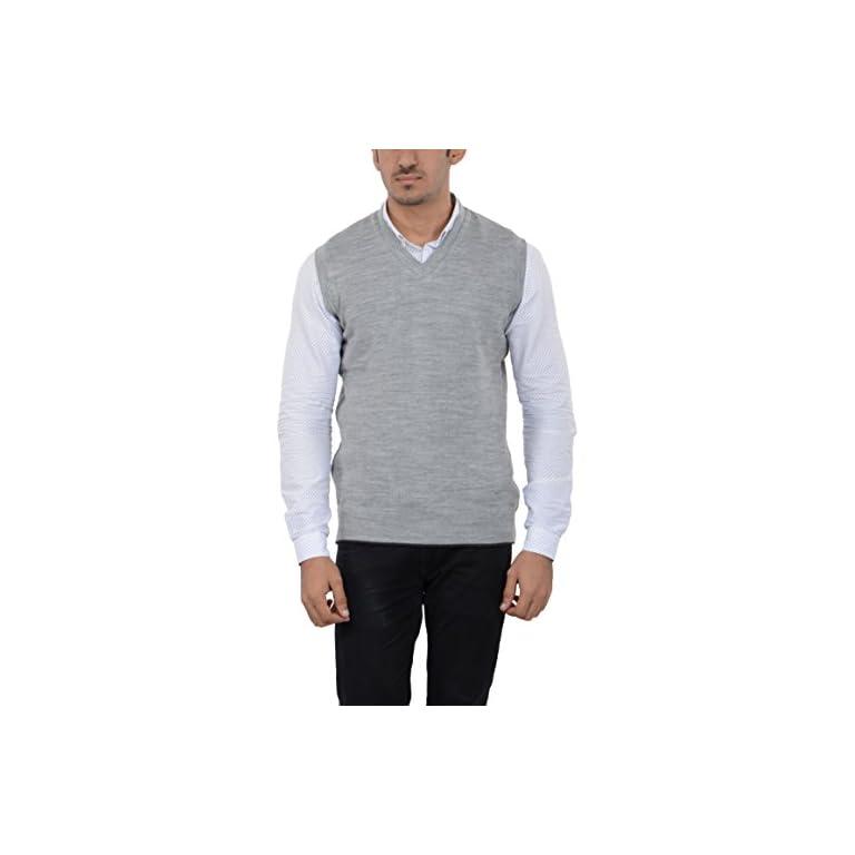 41I9It3mBdL. SS768  - aarbee Men's Woolen Reversible Sweater
