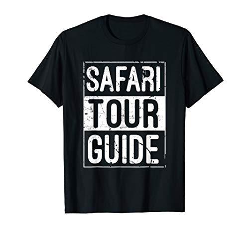 Safari Tour Guide Funny Halloween T-Shirt Costume Kids Adult]()