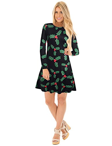 Ruiyige Women's Christmas Party Dress Flared Swing for sale  Delivered anywhere in Canada
