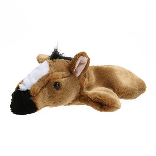 (Brightric Horse Hand Puppet Baby Kids Child Developmental Soft Doll Plush Toy)