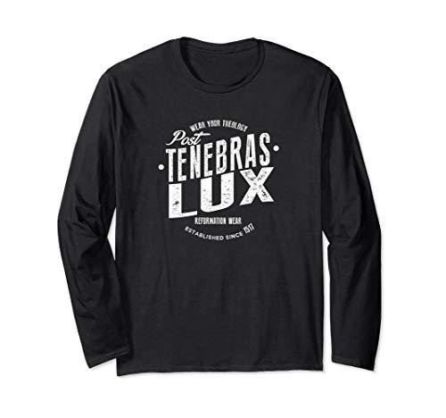 Post Tenebras Lux Reformed Christian Long Sleeve T-shirt (Apparel)