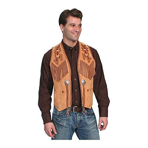[スカーリー] メンズ ベスト Handlaced Bead Trim Vest 755 Long [並行輸入品] B07DHN726H  50