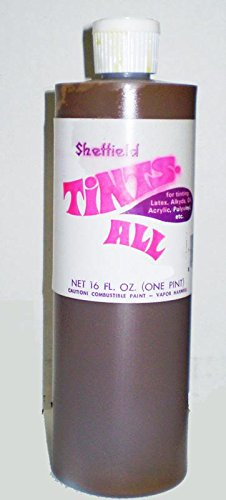 4192 16oz Tints All Colorant Bottle - Flake White #35 by Sheffield