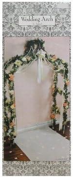 Amazon Com 7 White Decorative Wedding Arch Decoration Reception