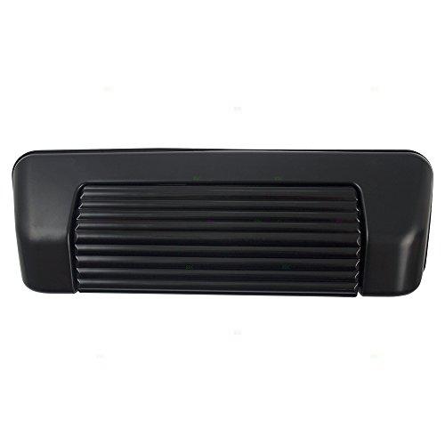 - Rear Tailgate Liftgate Handle Black Base w/Black Lever Replacement for Chevrolet Geo Tracker Suzuki Sidekick 30017883