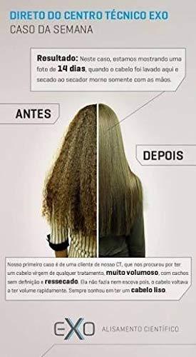 Exoplastia Capilar Original Exoplasty Capillary Brazilian Hair Smoothing Keratin Nanotech STEP 2 ONLY 1 LITRE by EXO (Image #7)