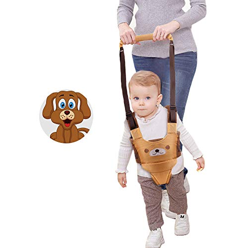 Baby Walker Walking Harness for Kids Handheld Safe Stand Up Walker Assistant Belt for Toddlers Infant Learning to Walk (Yellow)