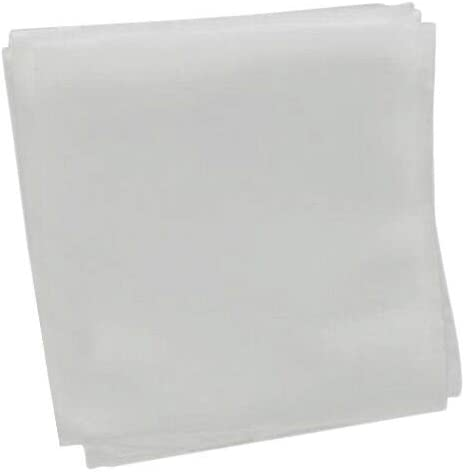 Frjjthchy 500 Piece Biodegradable Non-Woven Nursery Grow Bags Seedling-Raising Bags White 3.94×4.72 in