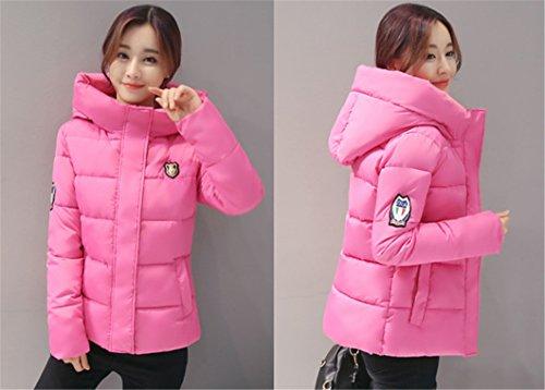 Women's Down Coat Down HAOKTY Coat Pink HAOKTY Women's qAIHF